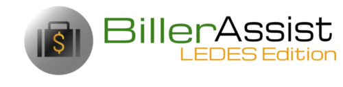 BillerAssist LEDES Edition | Legal Billing Software, Time Entry Assist & More | Online Software (No Download)