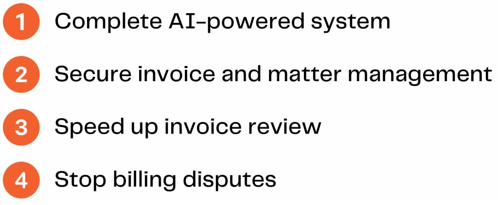 AI-Powered Enterprise Matter Management Software | BillerAssist for Clients COMPLETE